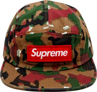 Supreme Military Camp Cap - Swiss Camo