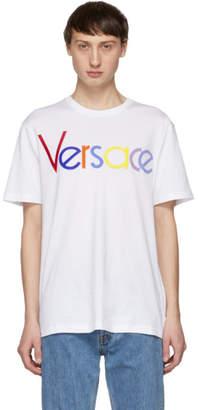Versace White Vintage Logo T-Shirt