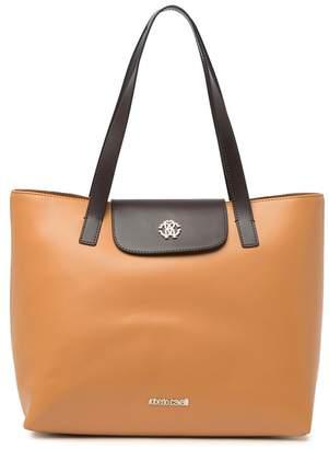 Roberto Cavalli Leather Tote Bag