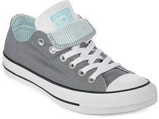 d68b7aa34d8 Converse Chuck Taylor All Star Double Tongue Womens Sneakers Lace-up