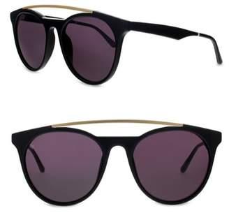 SMOKE X MIRRORS Sugarman 52mm Round Sunglasses