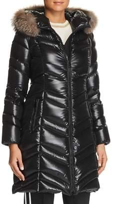 Moncler Fulmar Fur Trim Jacket