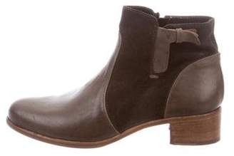 Alberto Fermani Leather Ankle Boots w/ Tags