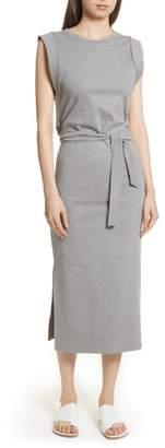 Vince Wrap Waist Cotton Dress