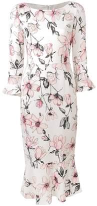 Goat Gigi floral fitted dress