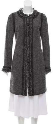 Andrew Gn Embroidered Knee-Length Coat
