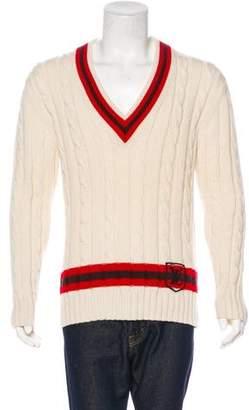 Louis Vuitton Cashmere Cable Knit Sweater