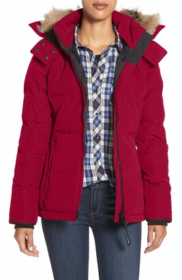 Canada Goose 'Chelsea' Slim Fit Down Parka with Genuine Coyote Fur Trim