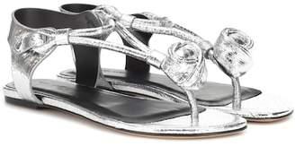 Isabel Marant Jarley metallic leather sandals