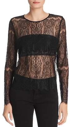 CAMI NYC Asher Sheer Lace Top