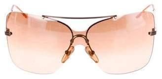 Christian Dior Shield Gradient Sunglasses