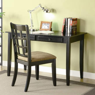 Andover Mills Eberhart Writing Desk and Chair Set