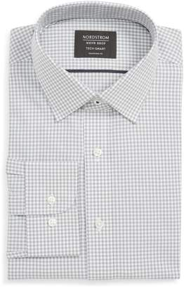 Nordstrom Tech-Smart Traditional Fit Check Stretch Dress Shirt
