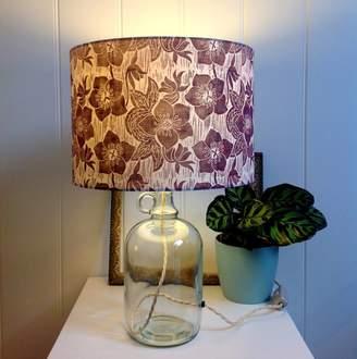 Steve Madden hannah Hellebore Glass Bottle Table Lamp