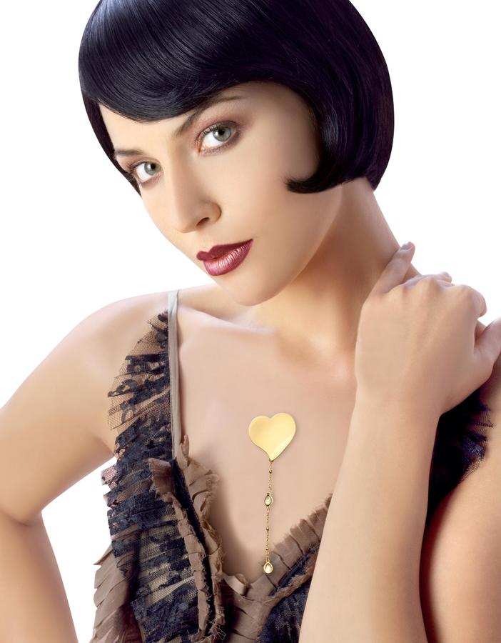 Newd Marylin - Heart w/ Crystal Drop