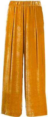 Semi-Couture Semicouture wide-leg flared trousers
