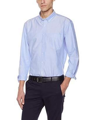 LLETTWIL Mens Oxford Dress Shirt Regular Fit Long Sleeves Shirts