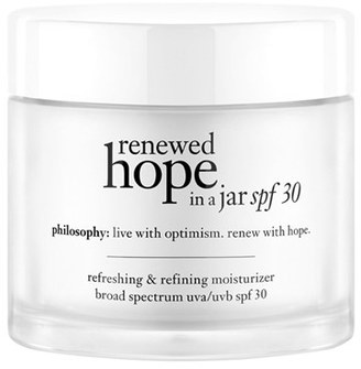 Philosophy 'Renewed Hope In A Jar' Refreshing & Refining Moisturizer Spf 30 $39 thestylecure.com