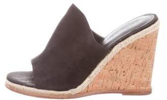 Sigerson Morrison Slide Wedge Sandals