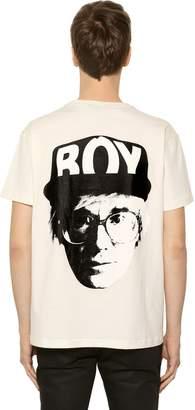 Boy London Boy Visual Printed Jersey T-Shirt