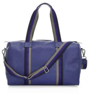Saks Fifth Avenue COLLECTION Textured Leather Weekender Bag