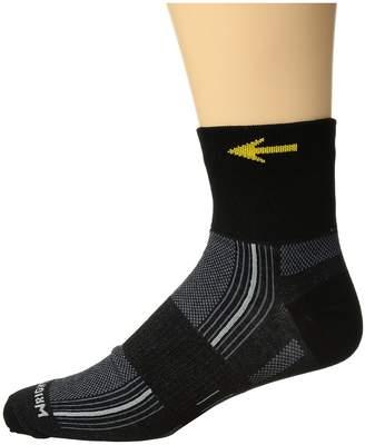Wrightsock Stride Quarter Quarter Length Socks Shoes