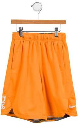 Nike Boys' Mesh-Accented Printed Shorts