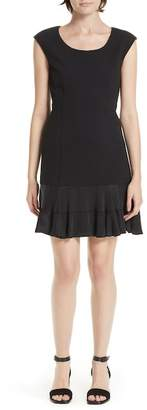 Rebecca Taylor Honeycomb Fit & Flare Dress