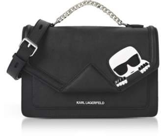 Karl Lagerfeld K/Ikonik Klassik Shoulder Bag