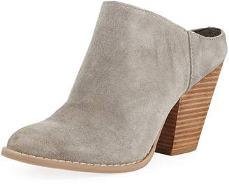 Dolce Vita Hollis Suede Western Mules