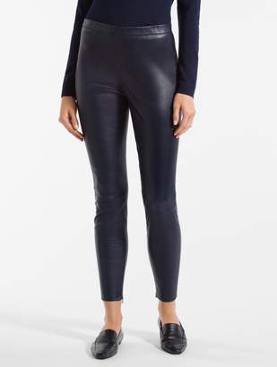 St. John Nappa Leather Leggings