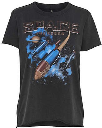 Only Lucy Space Galaxy Print Cotton Tee