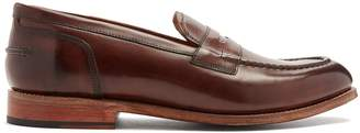 Grenson Maxwell leather loafers