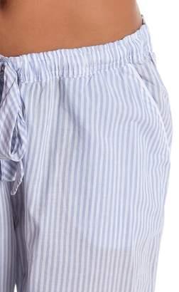 PJ Salvage Denim Blues Stripe Pajama Pants
