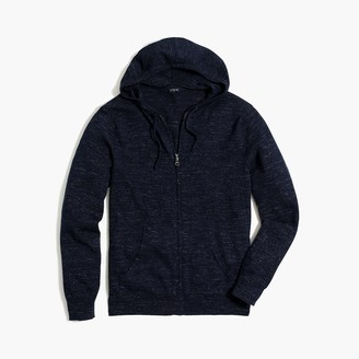 J.Crew Full-zip sweater in budded cotton