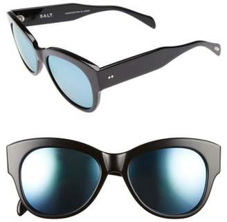 Salt Hammen 54mm Polarized Cat Eye Sunglasses