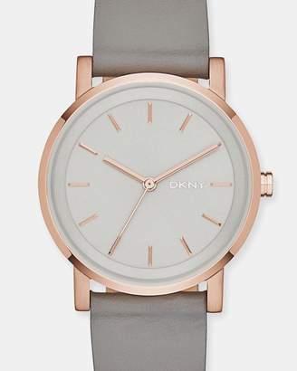 DKNY Soho Grey Analogue Watch