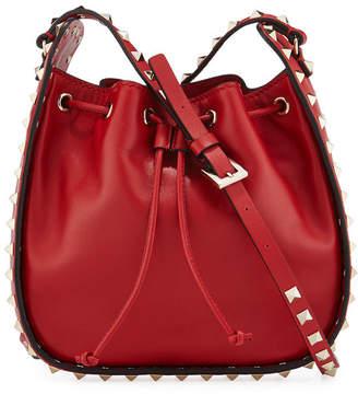 Valentino Rockstud Small Drawstring Crossbody Bag