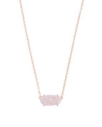 Kendra Scott Ever Pendant Necklace in Rose Gold