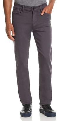 7 For All Mankind Luxe Sport Slimmy Straight Slim Fit Jeans in Gunmetal