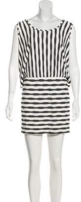 Trina Turk Striped Mini Dress