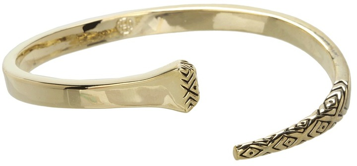 House Of Harlow All For the Want of a Horseshoe Nail Cuff (Yellow Gold) - Jewelry