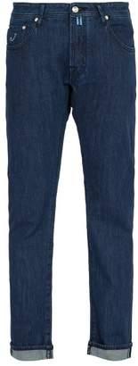 Jacob Cohën - Mid Rise Slim Leg Jeans - Mens - Blue