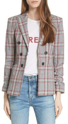 Veronica Beard Caldwell Plaid Dickey Jacket