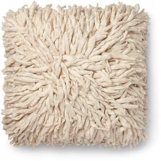"Loloi Cream Decorative Pillow, 22"" x 22"""