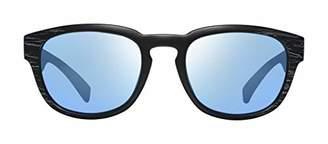 Revo Mens Polarized Sunglasses Zinger Modified Wayfarer Frame 53 mm