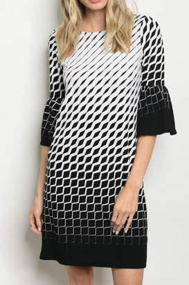 Gilli Textured Shift Dress