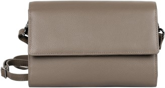 Hanson Karla RFID Blocking Leather Crossbody Clutch - Delia