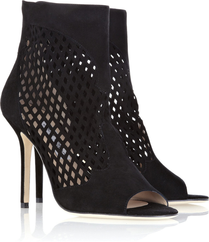Jimmy Choo Detroit suede ankle boots