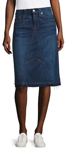7 For All Mankind 7 For All Mankind Eden Denim Pencil Skirt
